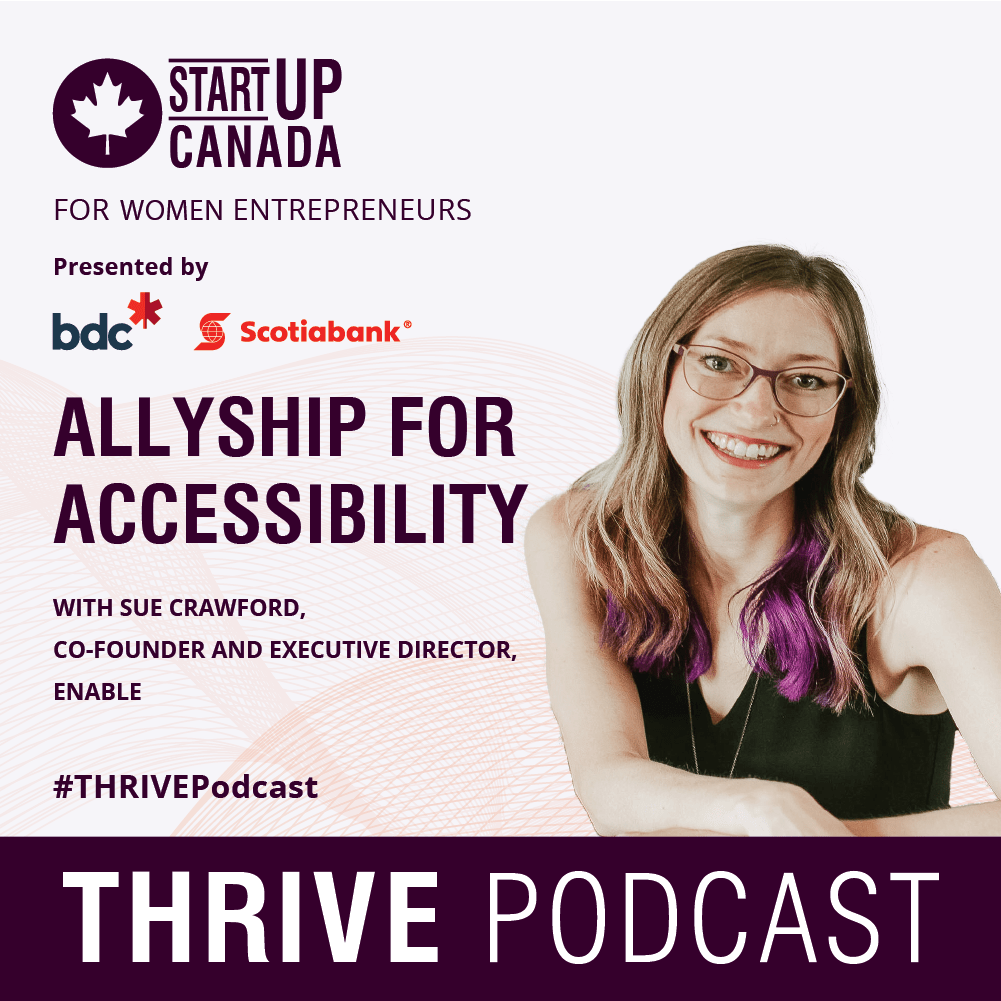 ALLYSHIP FOR ACCESSIBILITY WITH SUE CRAWFORD
