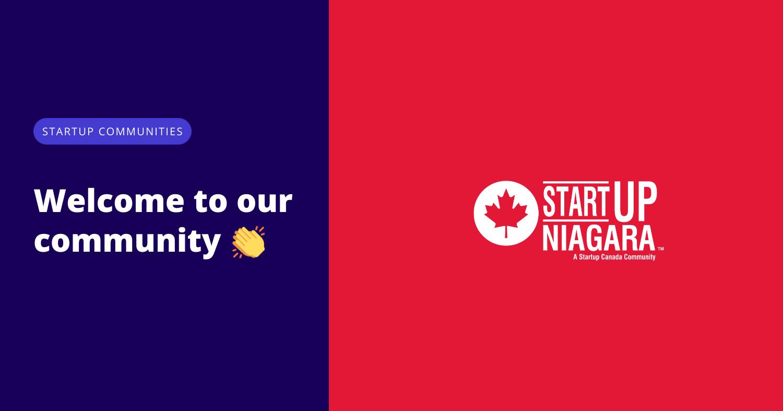 Startup Niagara joins Startup Canada's Startup Communities