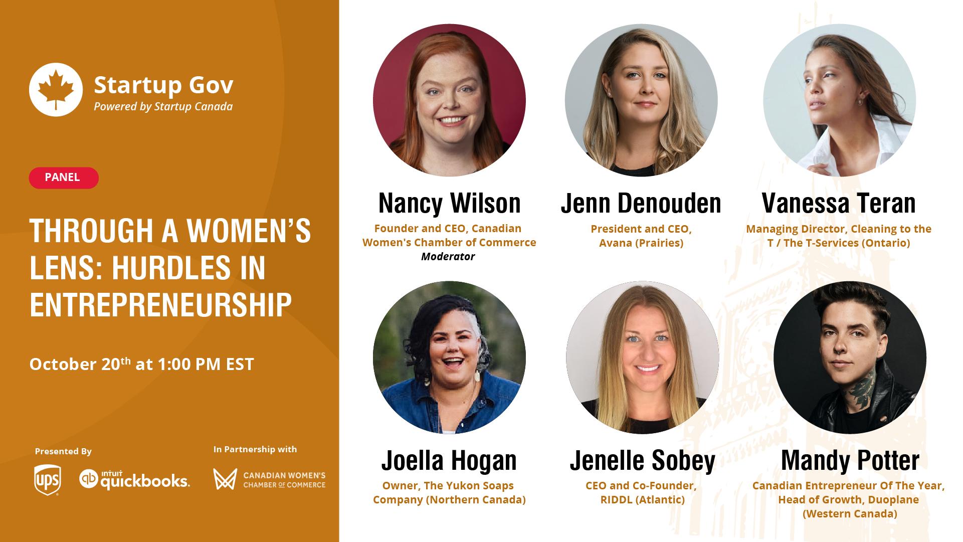 Through a Women's Lens: Hurdles in Entrepreneurship