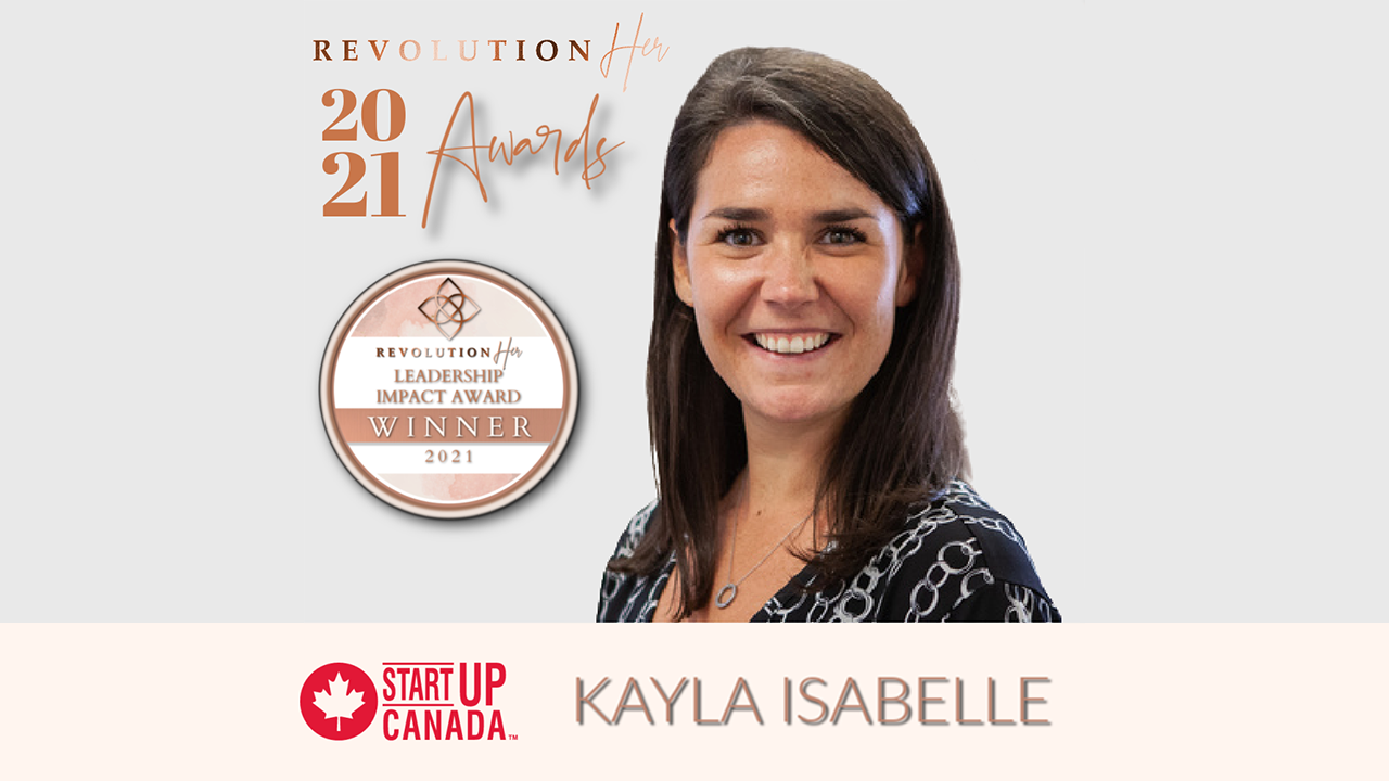 2021 RevolutionHER™ Awards Celebrates Female Entrepreneurial Talent Across North America