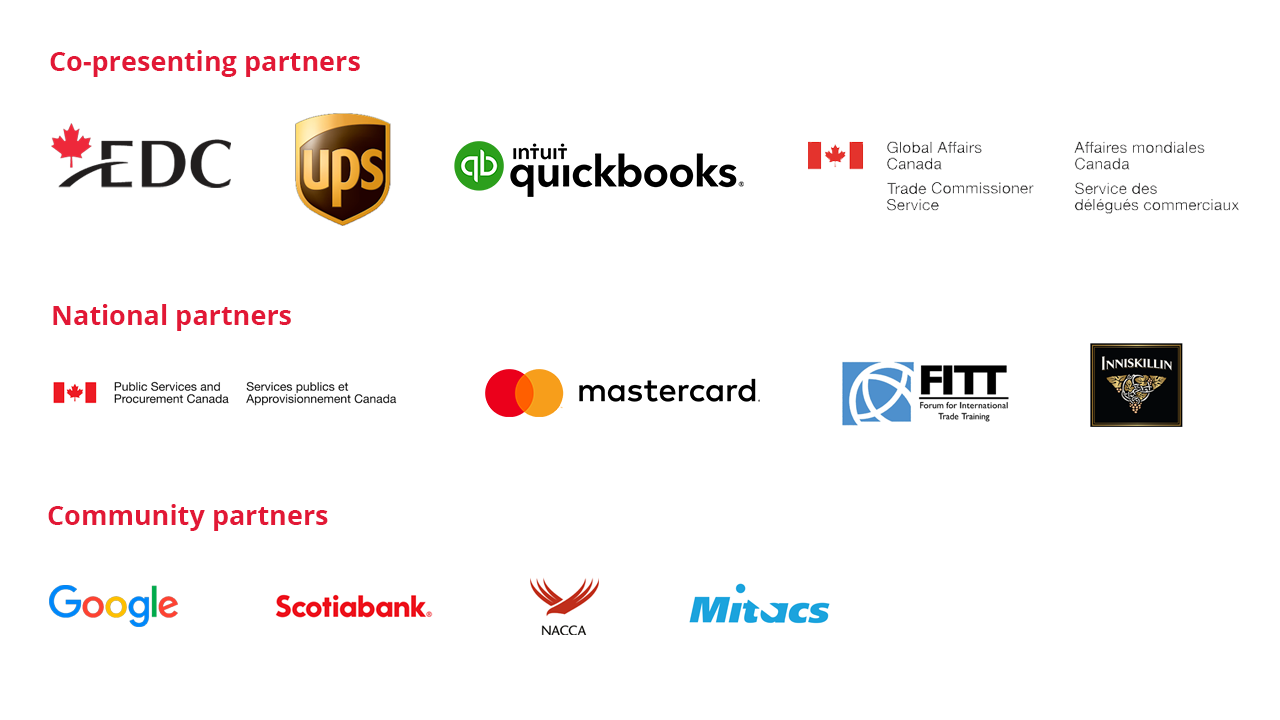 Small Business Week 2021 Partners
